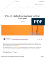 9 Creative Sales Incentive Ideas for Retail Employees | Xactly Corp