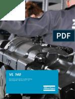 Perforador neumático VL140 Atlas Copco