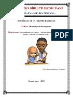 Curso de Metodología de La Investigación