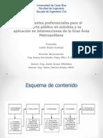 Tratamientos preferenciales para el transporte público y su aplicación en la GAM de Costa Rica