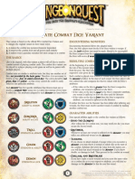 Alternate Combat Dice Variant