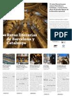 Rutas Literarias de Barcelona y Cataluña