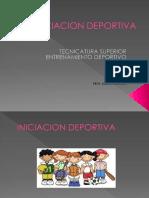 Iniciación Deportiva - Prof. Agustin Beltrán