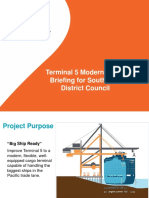 Terminal 5 briefing at May 2019 SW District Council