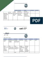 production schedule university
