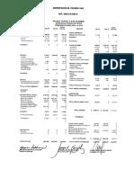 Estados Financieros 2014 Quirofanos El Tesoro Con Notas
