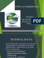 Introduccion a La Hidrologia