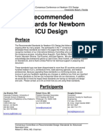 Recommended Standards for Newborn ICU Design