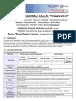 Regolamento Campionato REGIONALE CSEN 2019