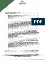 Dr. Colon-Rivas termination letter