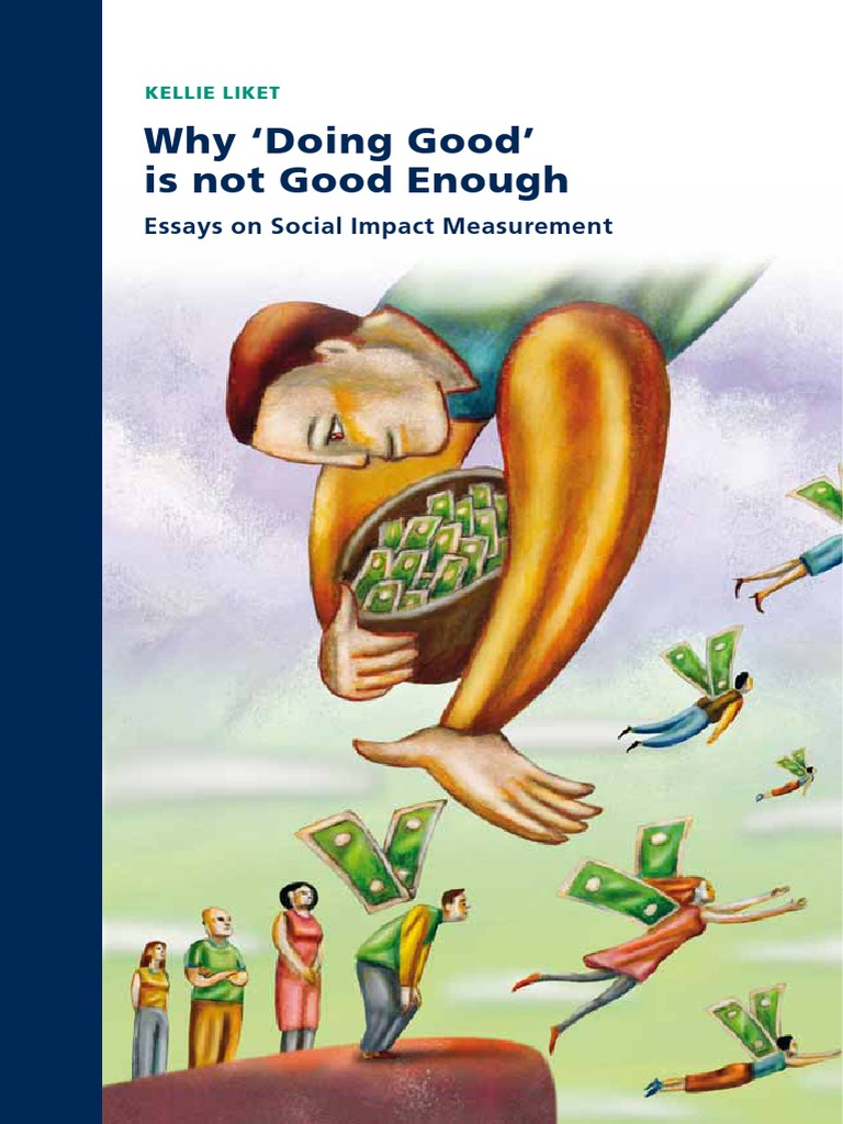 Why Doing Good Is Not Enoughpdf Corporate Social