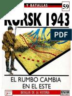 59 - Ejercitos y Batallas - Kursk 1943