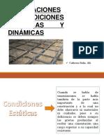 Condiciones Dinámicas y Estáticas