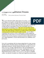 Dangerous Egalitarian Dreams | City Journal