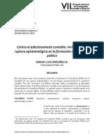 Contra El Adiestramiento Contable- Ordoñez,S (1)