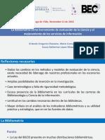 La bibliometría como herramienta de evaluación de la ciencia y el mejoramiento de los servicios de información Pontificia Universidad Javeriana Colombia.pdf