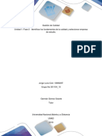 Fase 2 - Identificar los fundamentos de la calidad y seleccionar empresa de estudio. Jorge Luna Cód. 13993297.docx