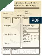 Ficha O Simulacro
