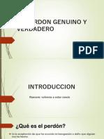 EL PERDON GENUINO Y VERDADERO.pptx