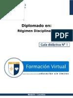 Generalidades Del Régimen Disciplinario