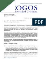 Manual de Discipulado y Crecimiento en La Madurez Espiritual