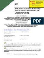 Genebre - Actuador Neumatico