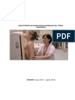 Características Radiológicas Normales Del Tórax Pediátrico
