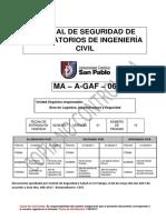 MA-A-GAF-06 Manual de Seguridad Ingeniería Civil