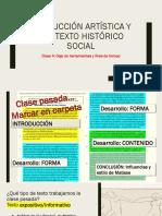 Clase 4 Caja de Herramientas y Línea de Tiempo Historia del Arte