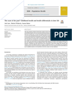 The scars of the past? Childhood health and health differentials in later life