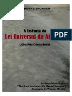 Lei universal da atração - Thomas Troward