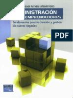 Administrador Para Emprendedores - LIBROS de MILLONARIOS
