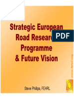 5. Strategic European Research Program