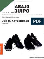 6 - KATZENBACH - El trabajo en equipo.pdf