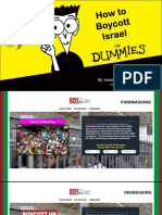How to Boycott Israel For Dummies