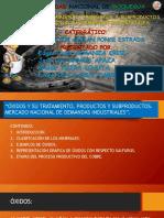(Grupo 01) Produccion Minero Metalurgico, Metodos y Tecnologias de Procesamiento de Concentradosppt