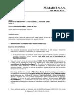 Observaciones Informe de Evaluación IC-007-2018