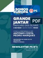 Newsletter PS/Coimbra  #3