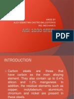 Aisi 1030 Steel.pptx Resistencia de Materiales