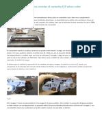 Métodos y Secretos Para Reciclar El Cartucho HP 2600 Color