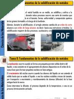 II Fundamentos de La Solidificación de Metales