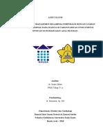 Audit Klinis Obstetri dan Ginekologi