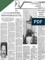 Edgard Romero Nava PDVSA Debe Evitar Desinversion en La COL - Diario Panorama 24.06.1987