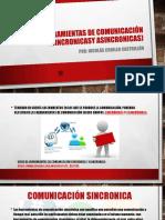 Presentacion Tipos de comunicación virtual