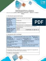Guía de actividades y rubrica de evaluación - Tarea 3 - Evaluar - Vídeo (1).docx
