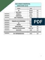 Mesas JULIO 2019 Infraestructura
