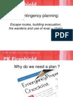 Nov 2015 Fire Contingency Planning
