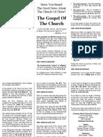 05 the Gospel of the Church