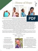 House of Hope - Tabarre, Haiti Newsletter
