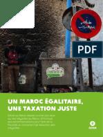 Rapport Oxfam 2019 Un Maroc Egalitaire Une Taxation Juste